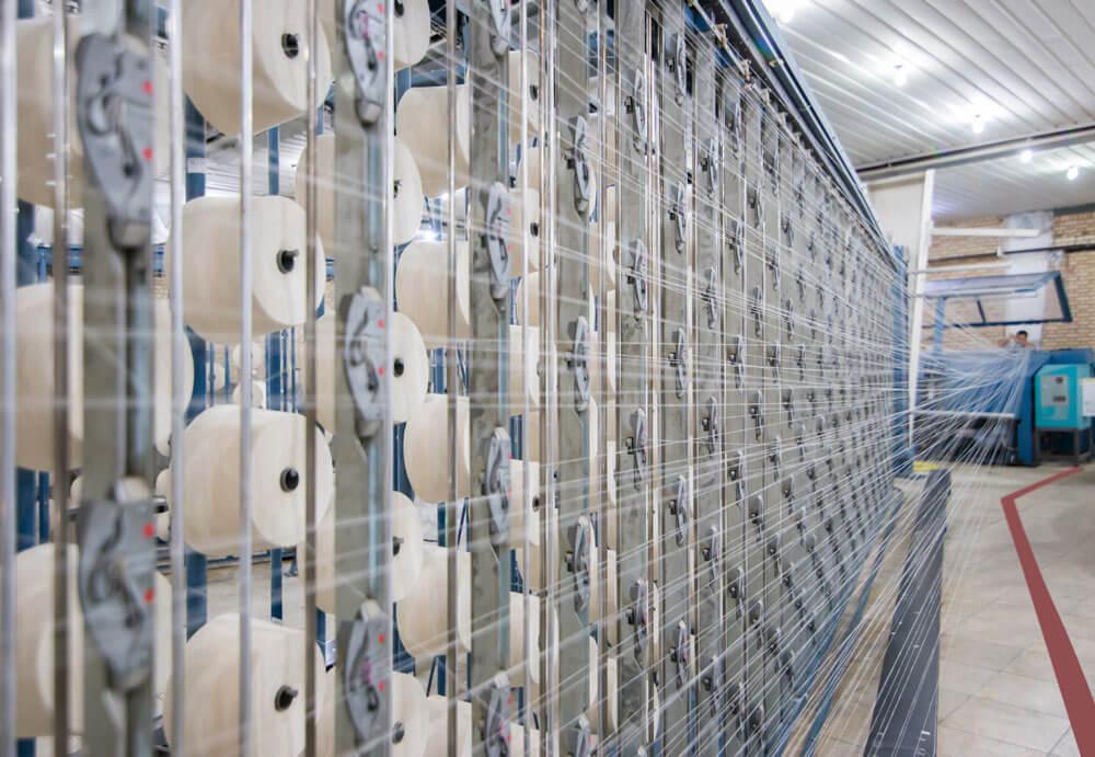تولید منسوجات در گروه نساجی پر
