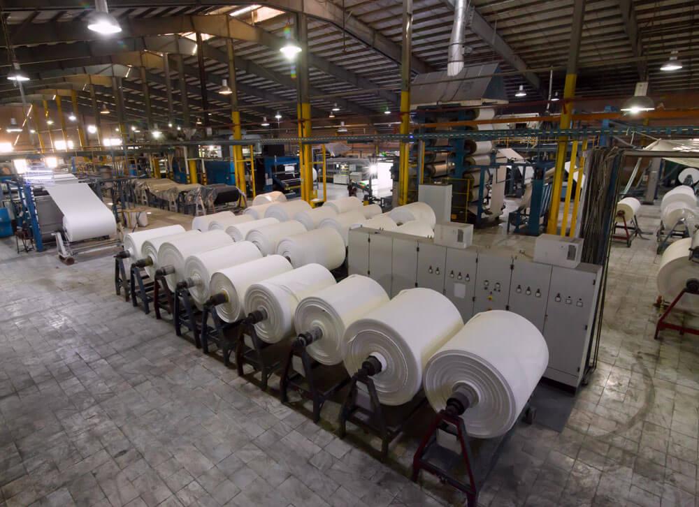 تاریخچه صنعت نساجی - تولید منسوجات در پرگروپ