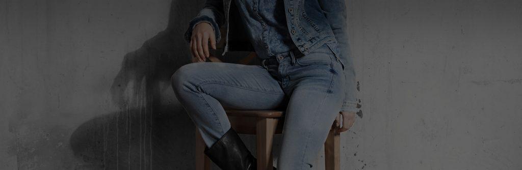 استفاده از پارچه جین برای شلوار