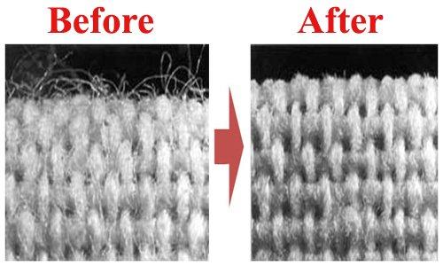 پروسه سینجینگ برای کاهش پرز پارچه